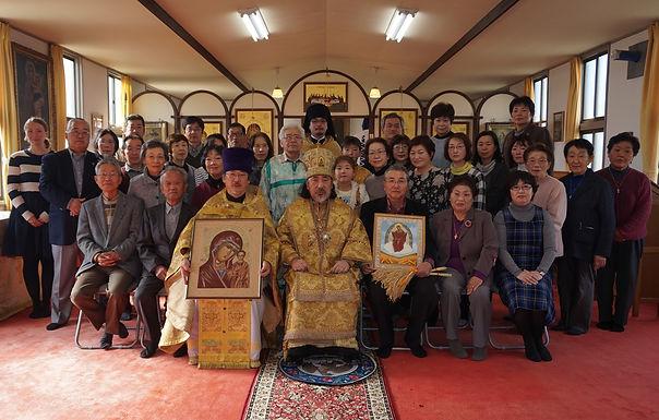 中新田正教会新信徒会館の成聖