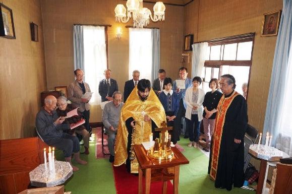 宣教キャラバン 気仙沼正教会