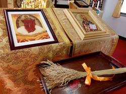 実り豊かなるを祝福する生神女のイコン