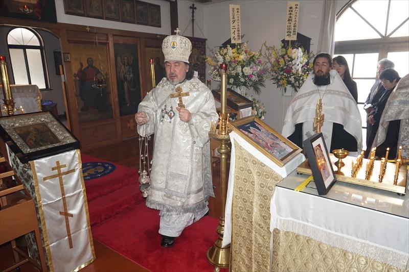 炉儀されるセラフィム大主教座下