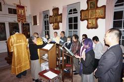 徹夜祷での実践練習