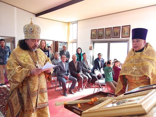 中新田ハリストス正教会収穫感謝祭