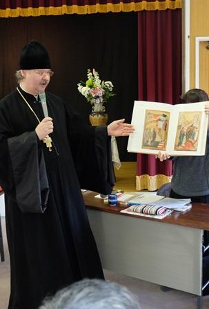 学びの会でのニコライ神父の講話