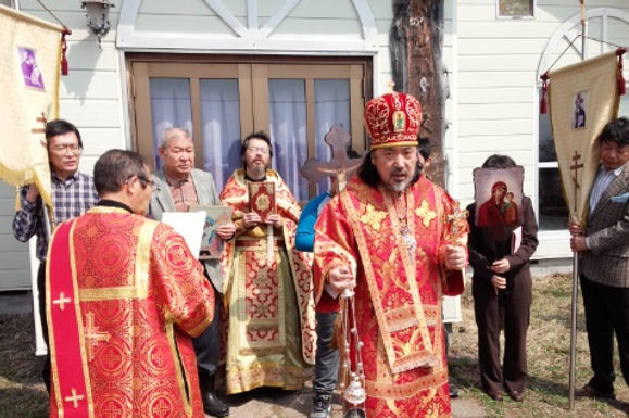 セラフィム大主教 復活祭巡回