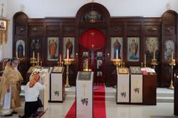 美しくなった聖堂内部