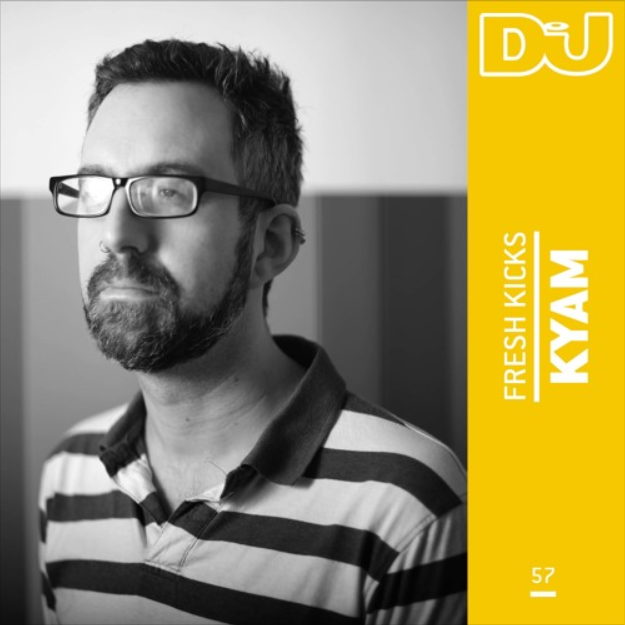 DJ Mag - Fresh Kicks Mix 57 - Kyam