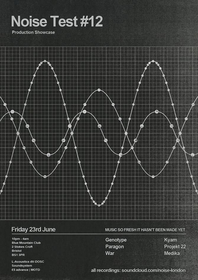 Noise Test Bristol set (100% Kyam productions)