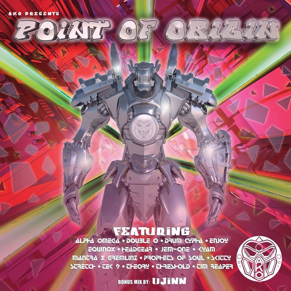 AKO Beatz - Point of Origin LP - Kyam