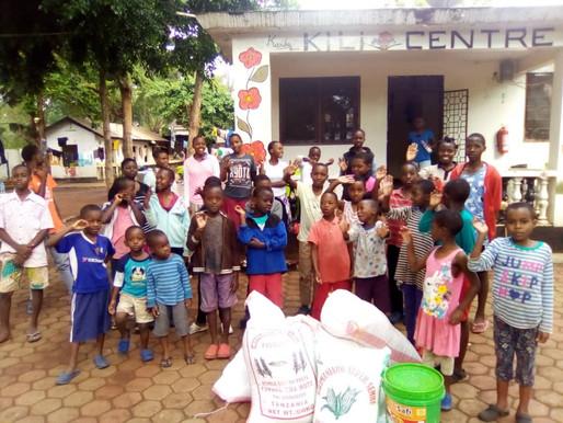 Lebensmittel-Kauf für das Kili Centre