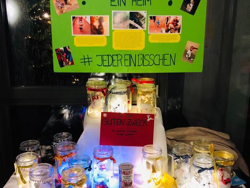 Spendenstand Christkindl-Markt in Löhne-Ort