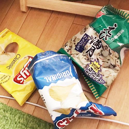 深夜のスナック菓子中毒事件