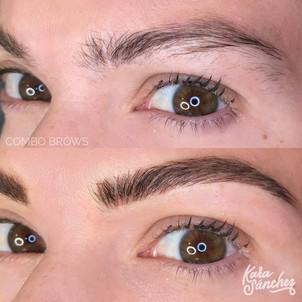 Medium brown _ combo brows