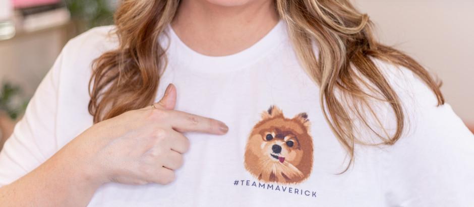 #TeamMaverick Tee - 100% of the profits donated