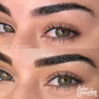 Dark brown _ combo brows