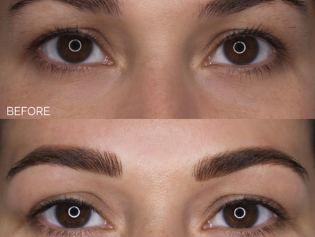 How To Enhance A Brow Shape Using Combo Brows