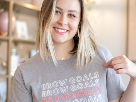 HOW TO STYLE YOUR BROW GOALS SHIRT