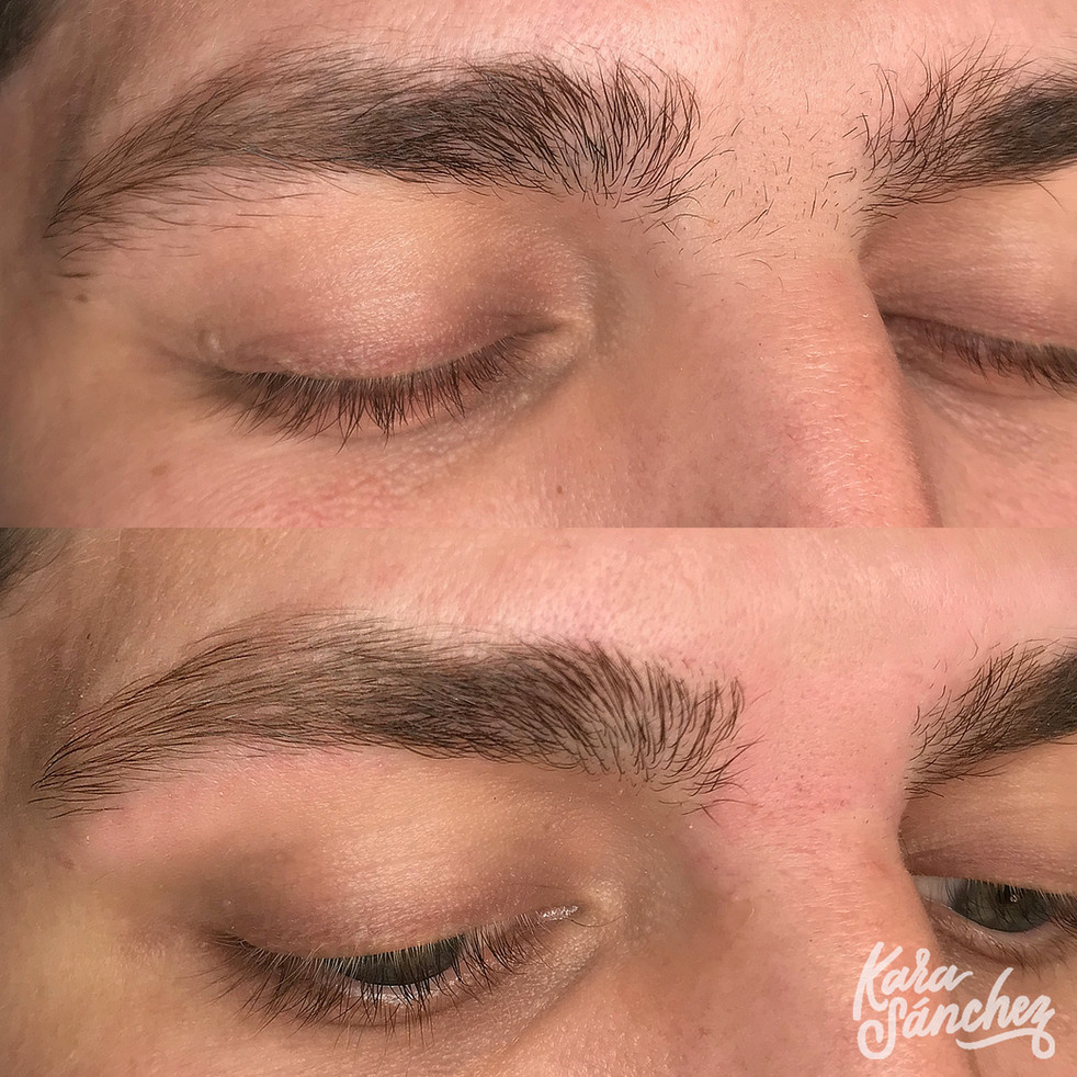 male_medium_brown_brow_shaping_male_aust