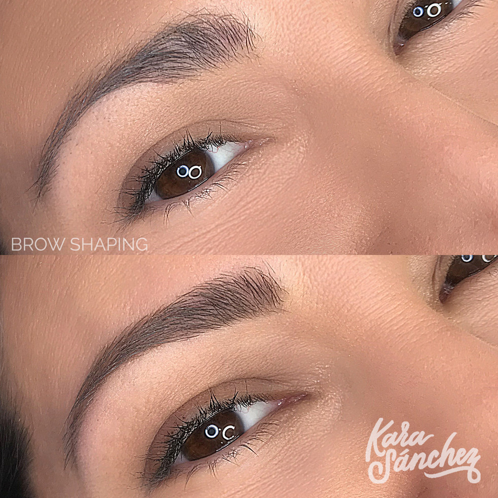 Dark_brown _ brow_shaping