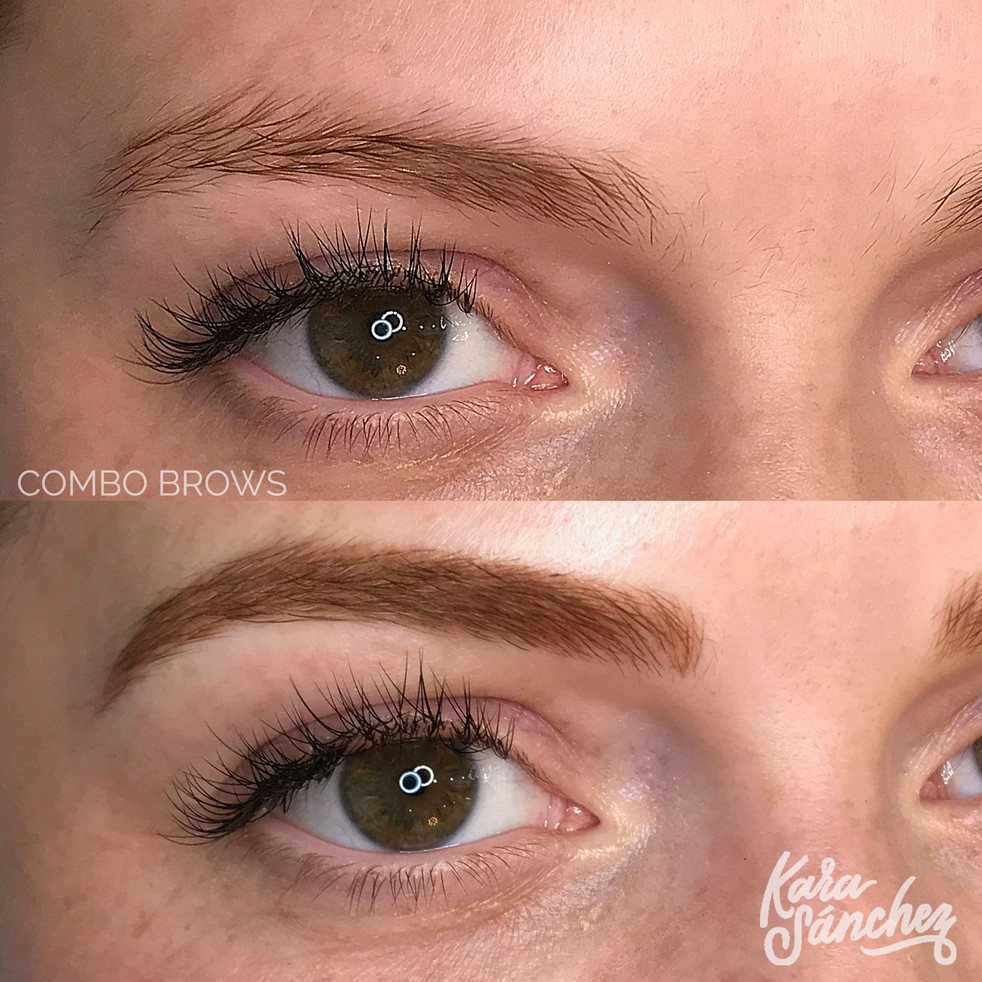 Ginger _ combo brows