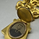 Thumbnail: 14K Victorian, Etruscan Revivial Locket and Chain Necklace