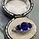 Thumbnail: Antique Sapphire Diamond Trilogy Ring