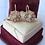 Thumbnail: 14k gold diamond & seed pearl earrings