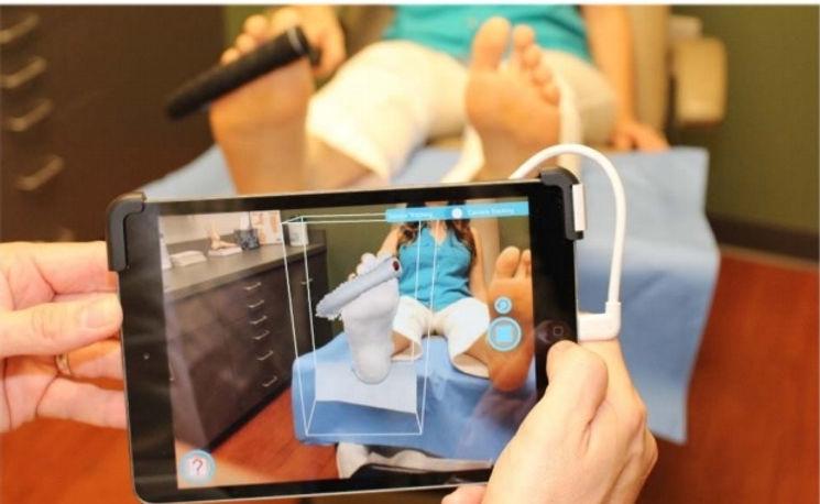 iPad Foot Scan