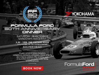 Formula Ford 50th Anniversary Dinner