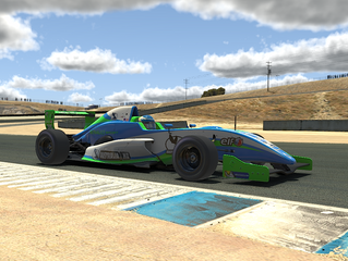 Burcher wins round 2 of 2020 Australian Formula Ford E-Challenge