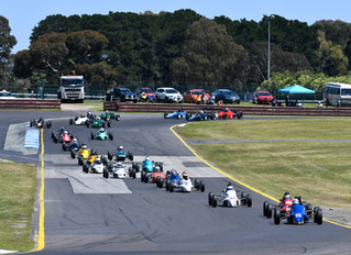 Historic Formula Ford celebrates 50th Anniversary at Sandown