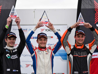 Mouzouris to the top after Winton three-peat