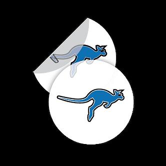 Stickers Circulares Transparente (DIE)