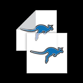 Stickers Cuadrados Transparente (DIE)