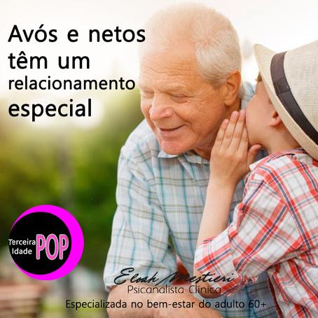 Avós e netos têm um relacionamento especial