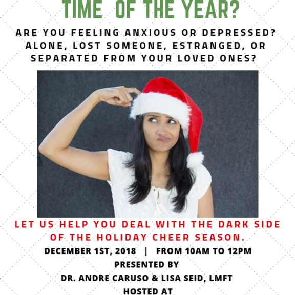 The Holiday Season: The Most Depressing Time of the Year???