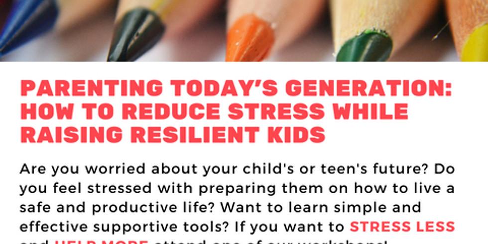 Parenting Stress Reduction Workshop