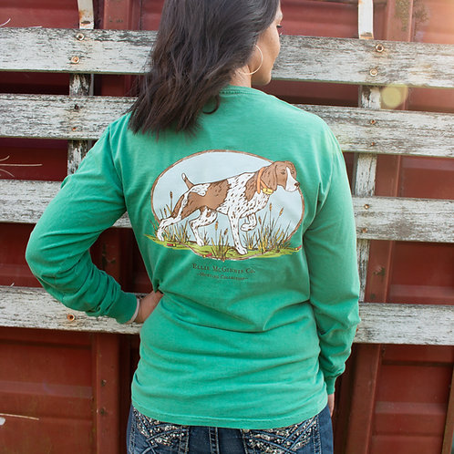 GSP Long Sleeve on Green