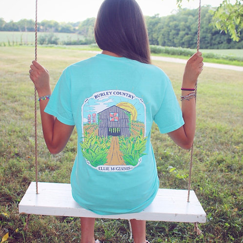 Burley Country Short Sleeve on Chalky Mint