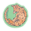 Thumbnail: Orange Kitty - Small Vinyl Sticker