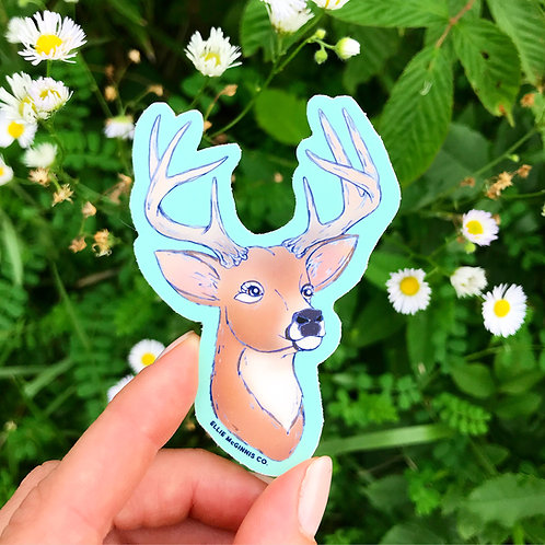 Trophy Buck Vinyl Sticker