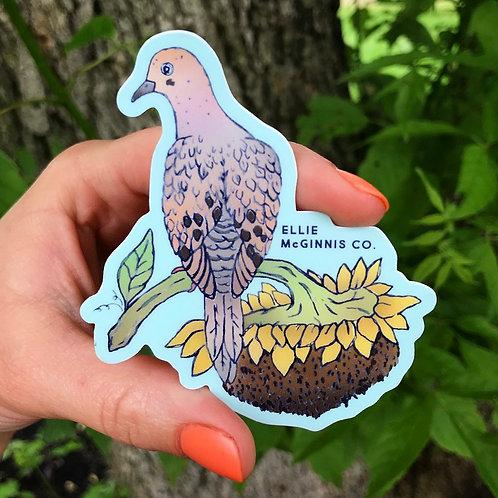 Dove - Small Vinyl sticker