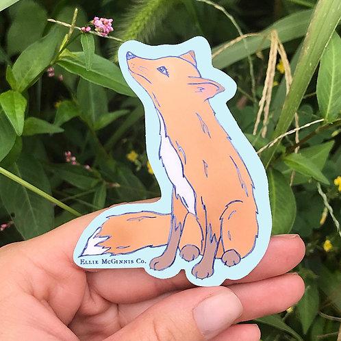 Small Fox Sticker