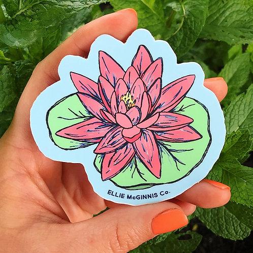 Lily Pad - Small Vinyl Sticker