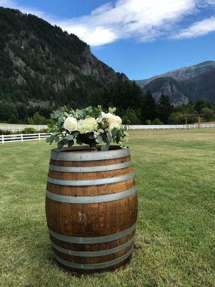 Mountain wedding in Portland Columbia River Gorge