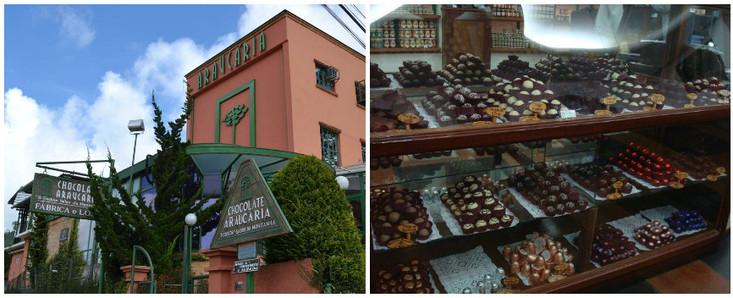 Araucária - Fábrica de Chocolate
