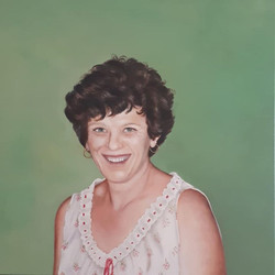 Mama 50 x 50 cm oil on canvas