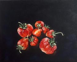 Strawberries from Santovka 30 25 cm oil