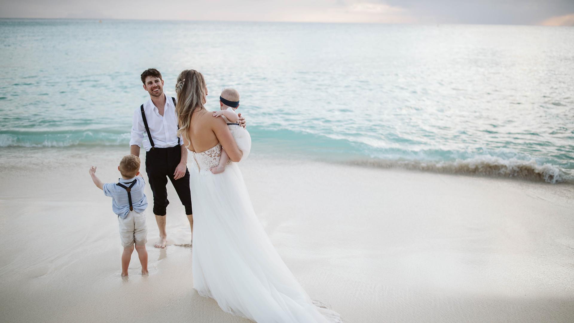 St. Maarten Family Wedding