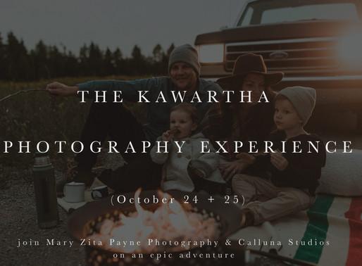 THE KAWARTHA PHOTOGRAPHY EXPERIENCE
