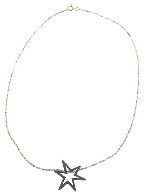 14K Gold Fill Necklace w/ Bronze Star